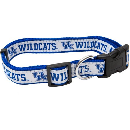 Pets First College Kentucky Wildcats Pet Collar, 3 Sizes Available, Sports Fan Dog - Fun Dog Collars