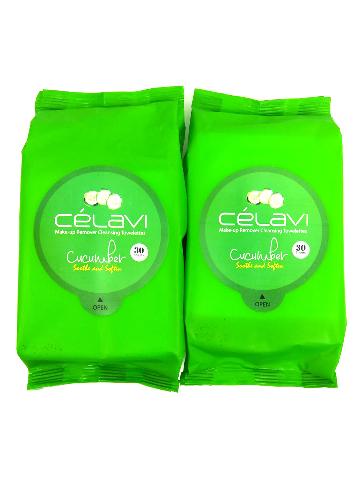 Celavi Makeup Remover Cleansing Wipes Removing Towelettes 2 Packs - 60 Sheets (Cucumber) Every Man Jack Age Defiant Eye Cream, 0.5 Oz
