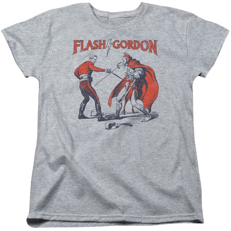 Flash Gordon  Duel Girls Jr Athletic Heather