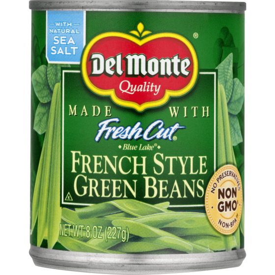 Del Monte Fresh Cut French Style Green Beans 8 Oz Walmart