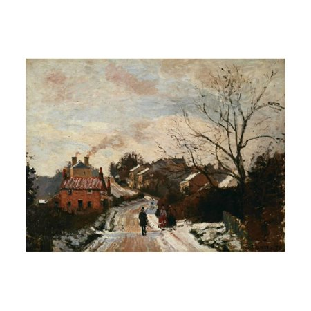 - Fox Hill, Upper Norwood, 1870 Print Wall Art By Camille Pissarro