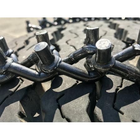 Snow Chains   315/70R17LT, 315/70-17 LT VBAR Tire Chains priced per pair. - image 2 de 5