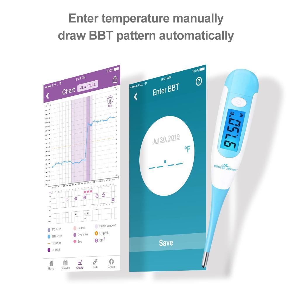 Digital Car Voltage Alarm Temperature Thermometer Clock LED Backlight Monitor OB