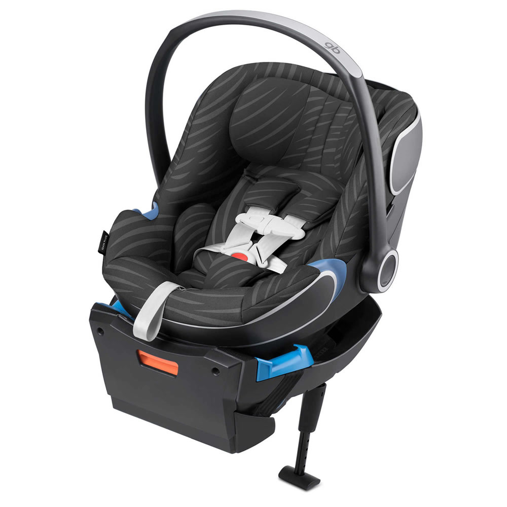 GB Idan Plus Infant Car Seat with Load Leg Base - Lux Black