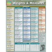 BarCharts 9781423224372 Weights & Measures