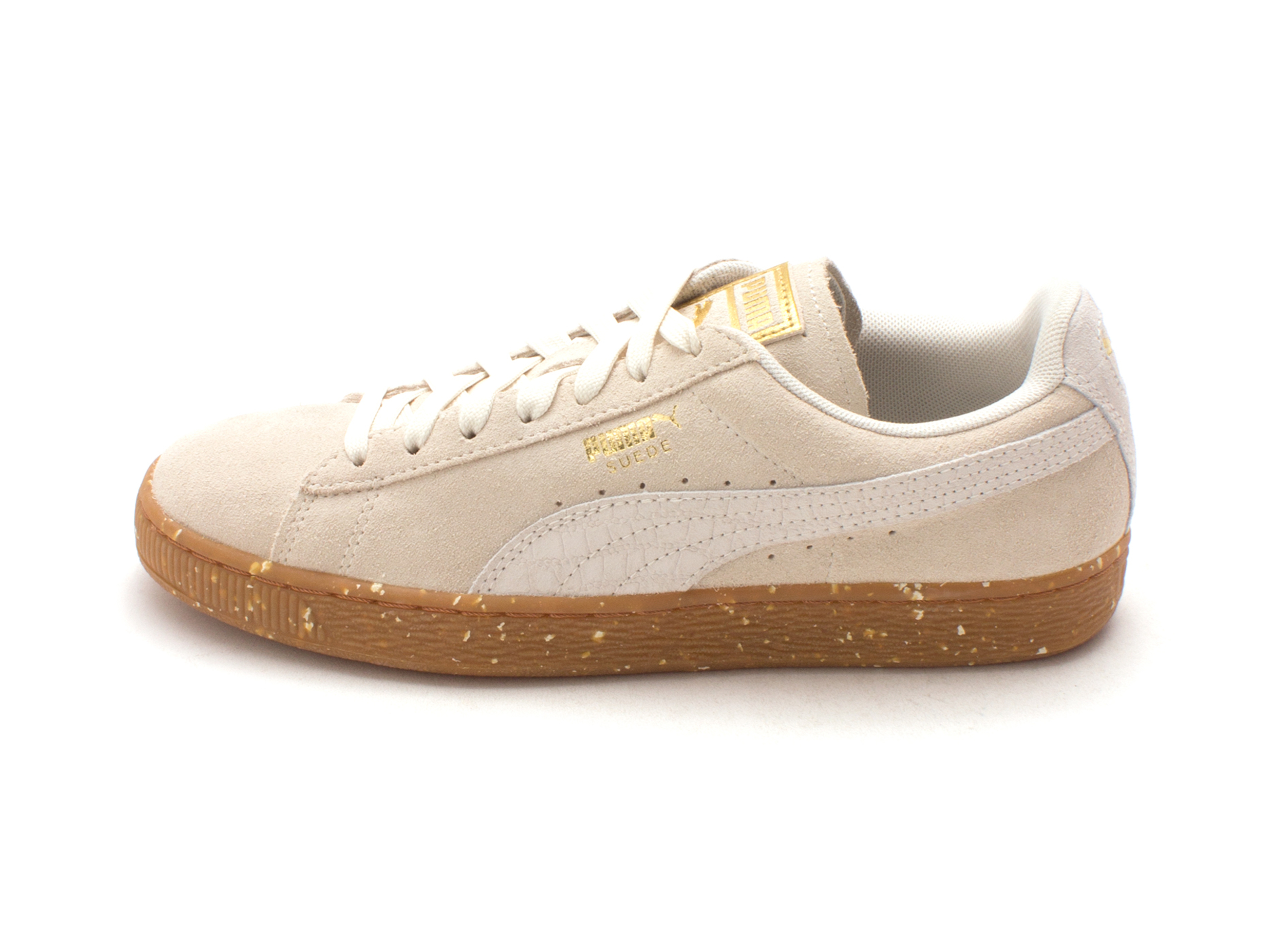 PUMA Womens Suede Classic Fabric Low Top Lace Up 51767adfc