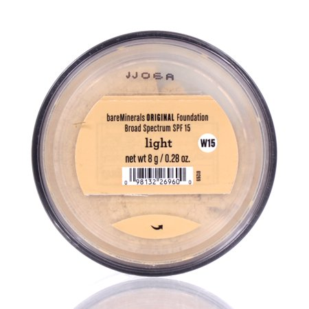 Bare Escentuals BareMinerals Original Foundation SPF 15 LIGHT 8g/0.28oz (Bare Escentuals Face)