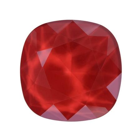 Swarovski Crystal, #4470 Cushion Fancy Stone 12mm, 1 Piece, Crystal Royal