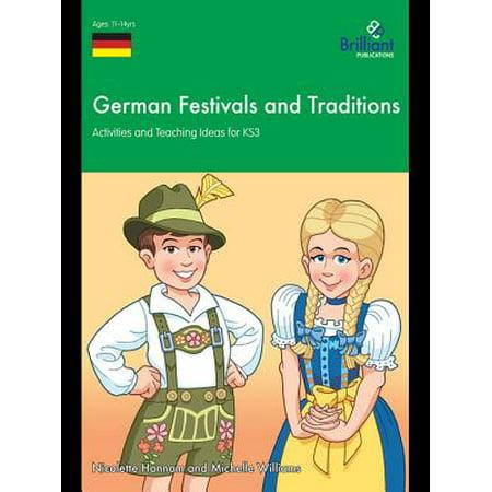 German Festivals and Traditions KS3 - eBook