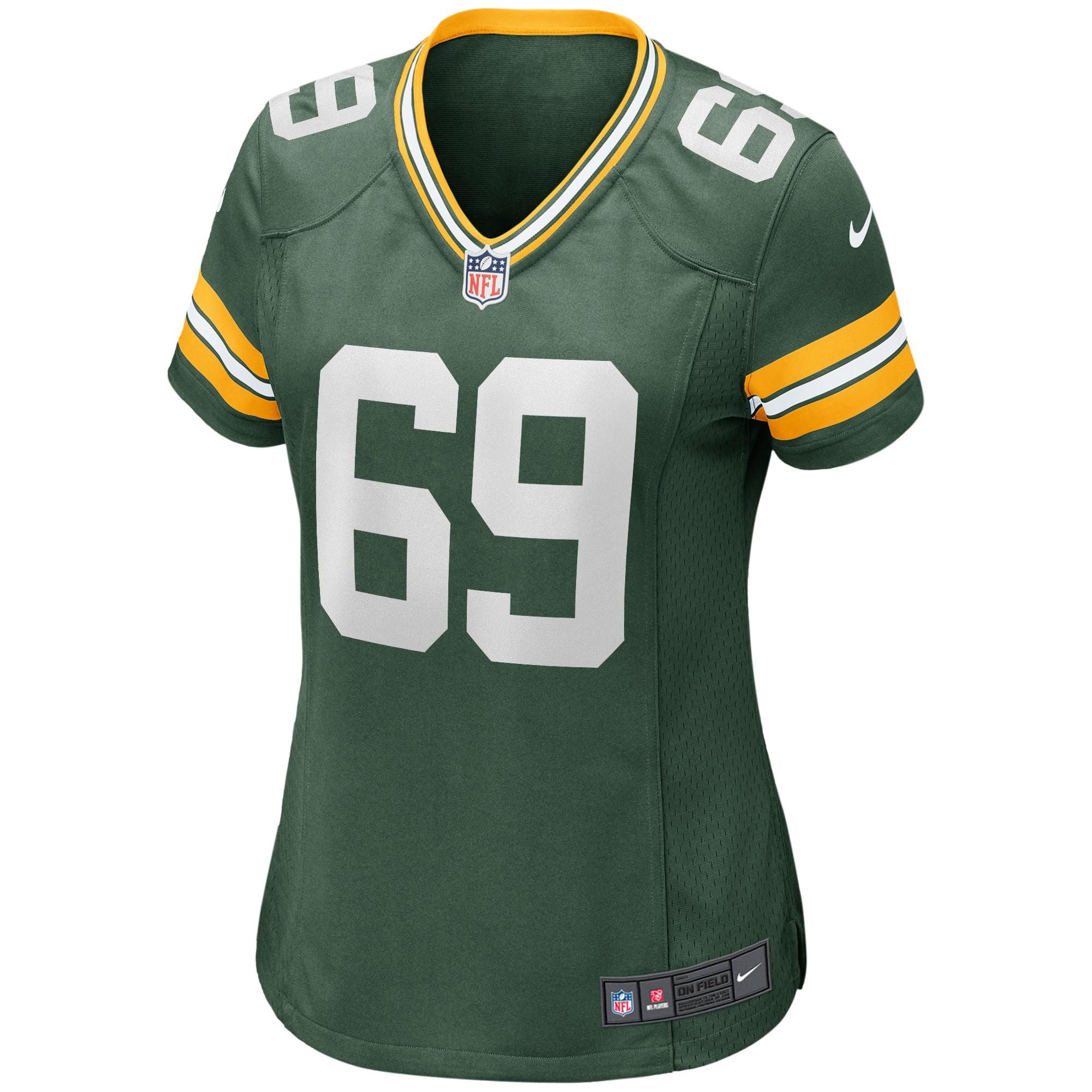 David Bakhtiari Green Bay Packers Nike Women's Game Player Jersey - Green