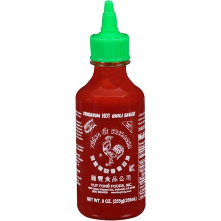 Sriracha Hot Chili Sauce, 9 oz - Walmart.com