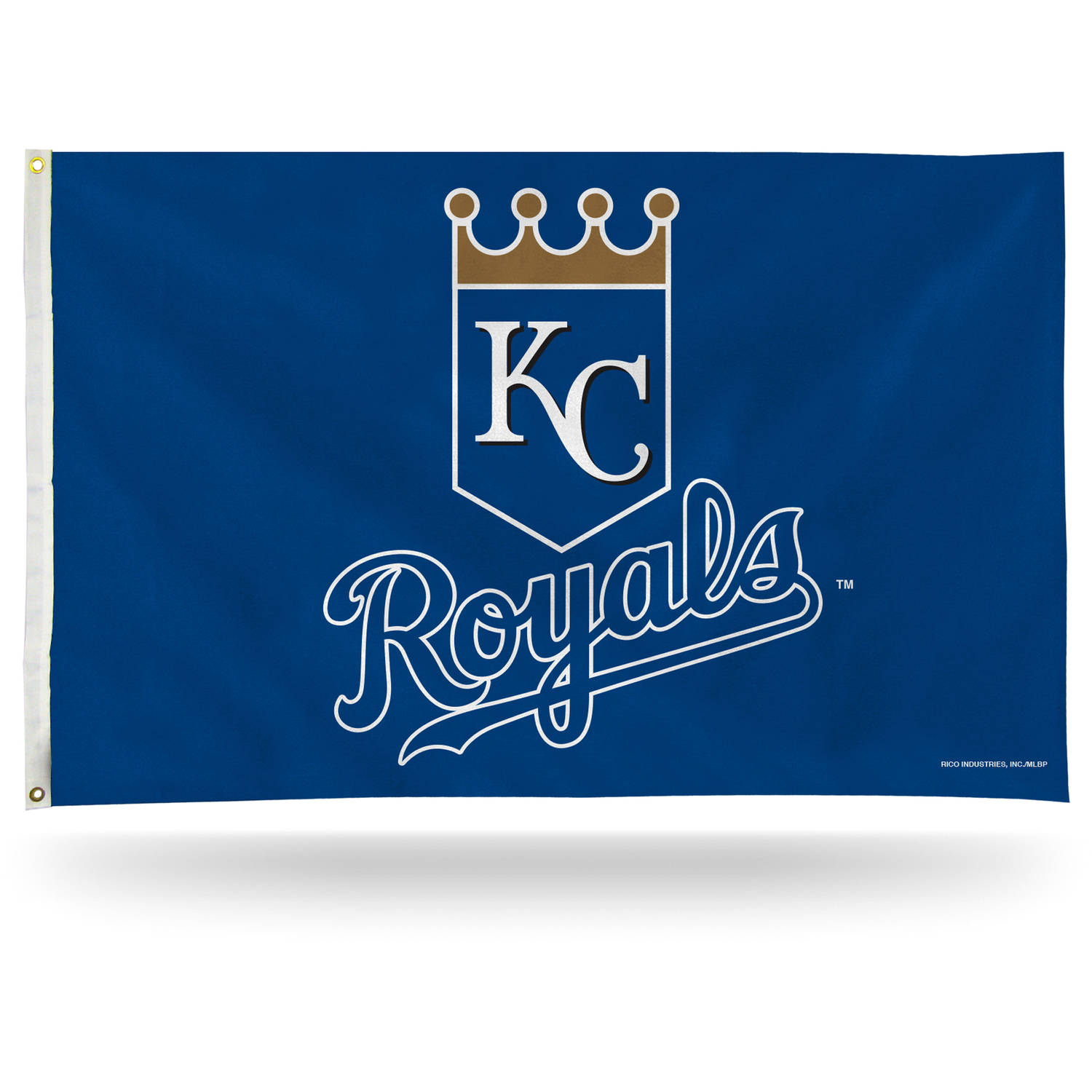 Rico Industries MLB 3' x 5' Banner Flag, Kansas City Royals