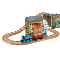 Fisher Price Thomas & Friends Wooden Railway Musical Melody Tracks Set by FISHER PRICE