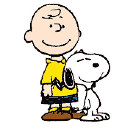 Peanuts Charlie Brown and Snoopy Counted Cross Stitch Pattern Counted Cross Stitch Pattern Chart