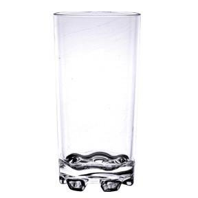 Polycarbonate Plastic Clear Unbreakable Tumbler Drink Glass Drinking Glasses