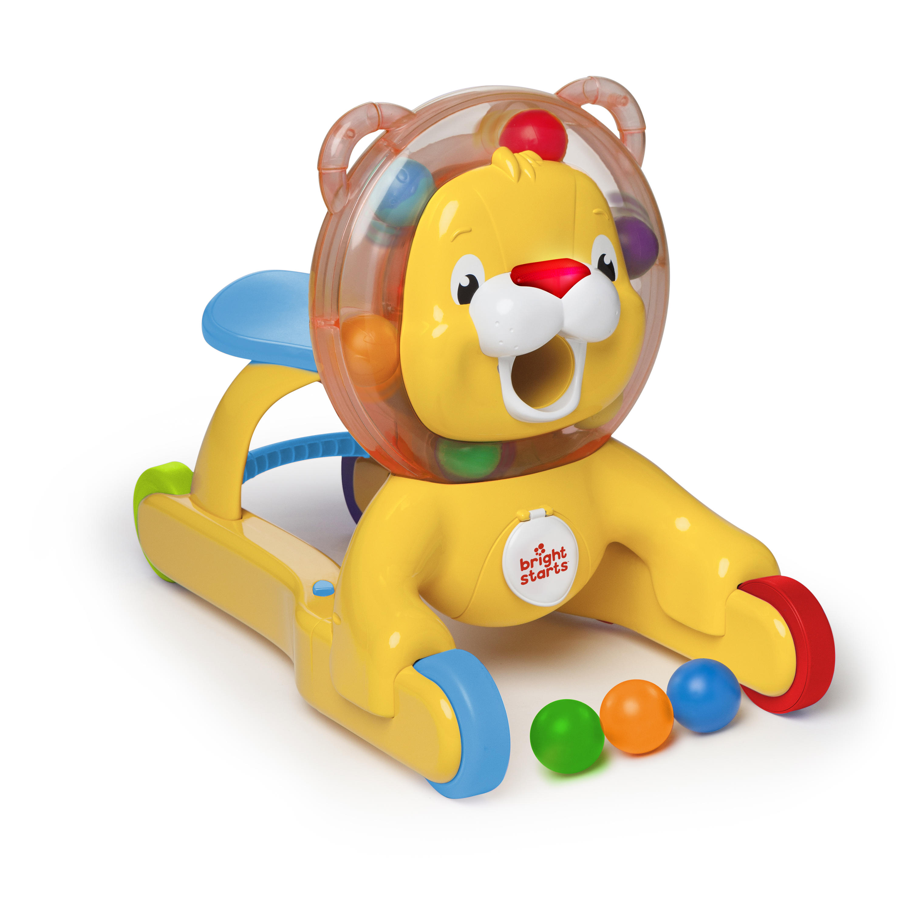 Bright Starts 3 In 1 Step 'n Ride Lion by Kids II