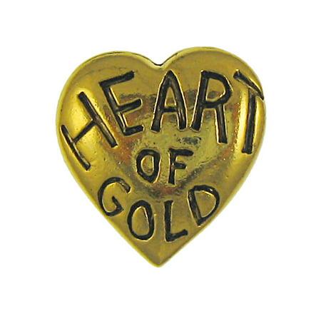 836049121c3 Jim Clift Design - Heart of Gold Gold Lapel Pin - 10 Count - Walmart.com