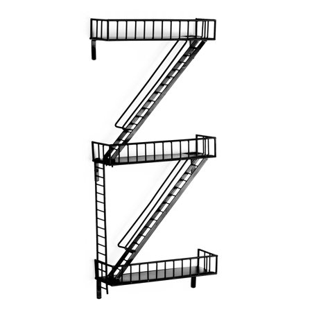 Design Ideas FireEscape Wall Shelf ()