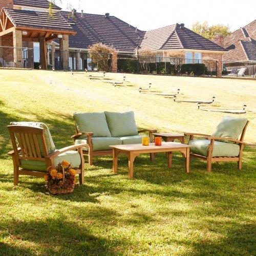 Southern Enterprises Deep Seating Conversation Set - Seats 4