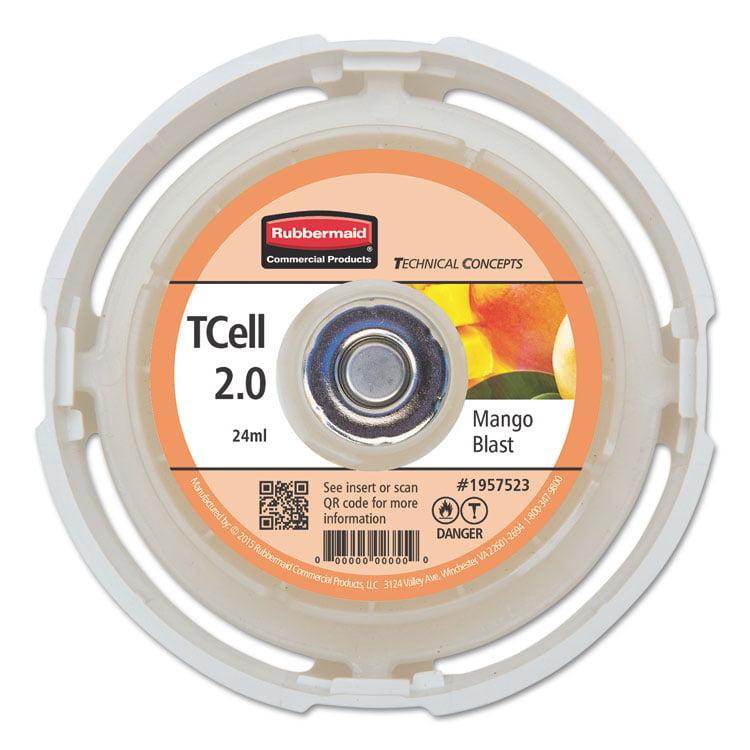 Tc Tcell 2.0 Air Freshener Refill, Mango Blast, 24 Ml Cartridge, 6/carton