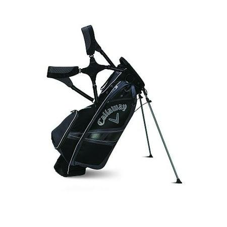 Callaway Hyper-Lite 3 Stand Bag (Black/Charcoal, 8.5