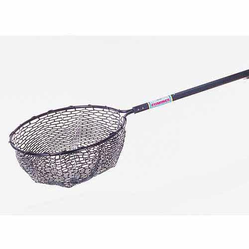 Ed cumings telescopic landing net for Extendable fishing net