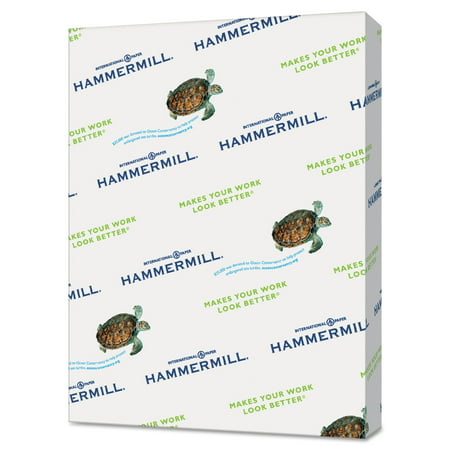 Hammermill Recycled Colored Paper  20Lb  8 1 2 X 11  Turquoise  500 Sheets Ream