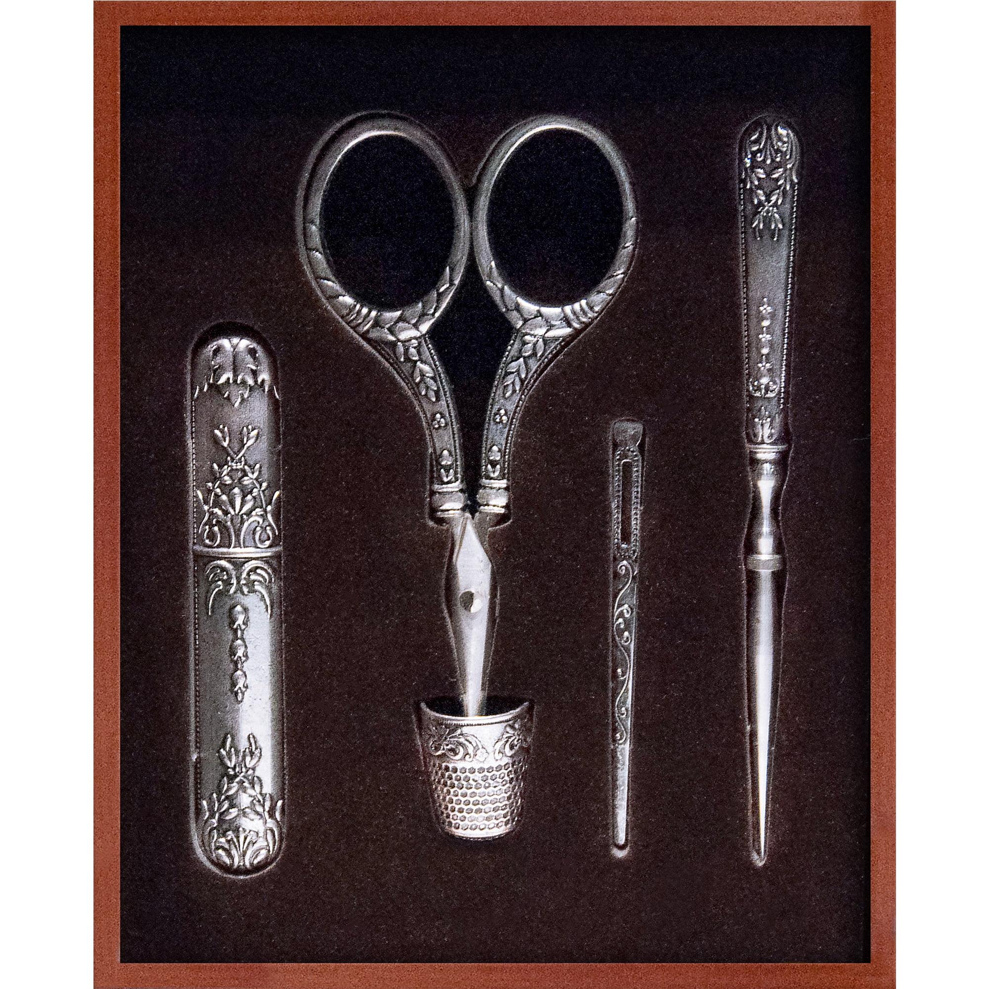 Sullivan's 5-piece Heirloom Embroidery Accessories Keepsake Box