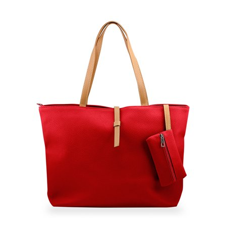 Fashion Lady Ladies Women PU Leather Messenger Hobo Classic Handbag Shoulder Bag Shopping Shopper Tote Purse