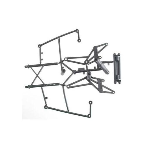 85255 Bumper/Roll Bar Set Wheely King Multi-Colored