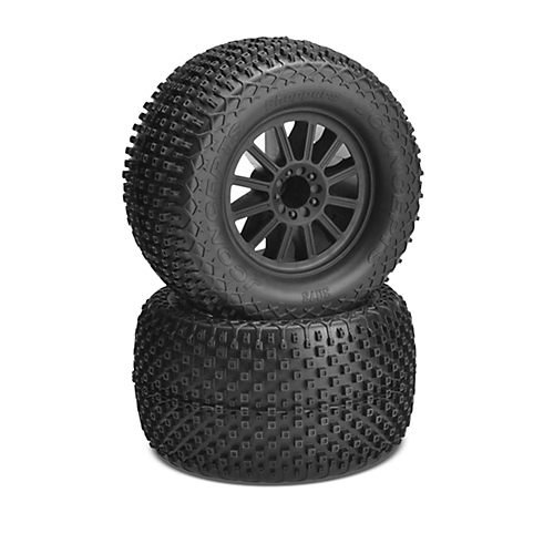 JConcepts Choppers Mounted 1/10 Tires Rulux Wheels JCO30733140