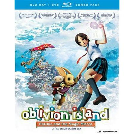 OBLIVION ISLAND-HARUKA & THE MAGIC MIRROR BLU RAY/DVD COMBO(ANIME MOVIE) (Oblivion Island Haruka And The Magic Mirror)
