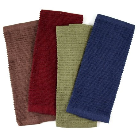 Iron Chef America Chef Dish Cloth in Assorted Classic Colors, Set of