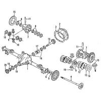 Genuine OE GM Pinion Bearings 9417781