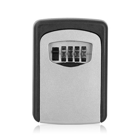 HERCHR Outdoor Key Safe Box, Car Key Lock Box Security Holder Case Combination Key Storage for Home/House - Locking Security Holders