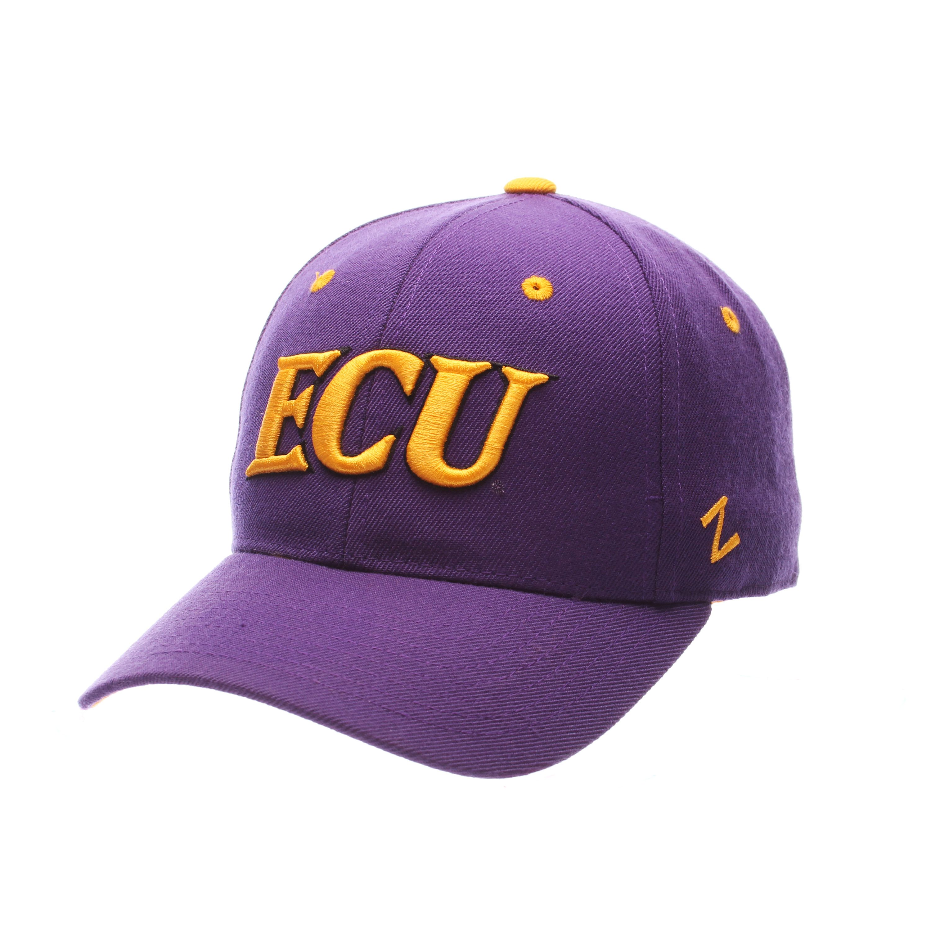 East Carolina Pirates DH Fitted Hat (Purple)