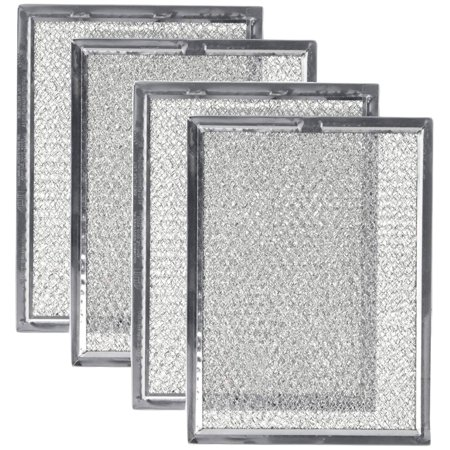 Replacement Microwave Oven Grease Filter For Frigidaire 5303319568, 4 Filters Microwave Grease compatible with Frigidaire part 5303319568.It's compatible with various Frigidaire oven range hoods, countertop microwave ovens and over the range microwave ovens.It helps keep grease out of the microwave venting system.A set of 4 filters. Individually sealed in bag. Dimension: 5-7/8  x 7-7/8  x 1/8  inches