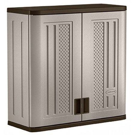 Suncast Wall Storage Cabinet Resin Construction For Wall Mounted