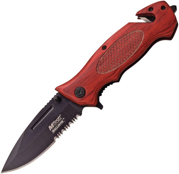 Rescue Linerlock A/O Red