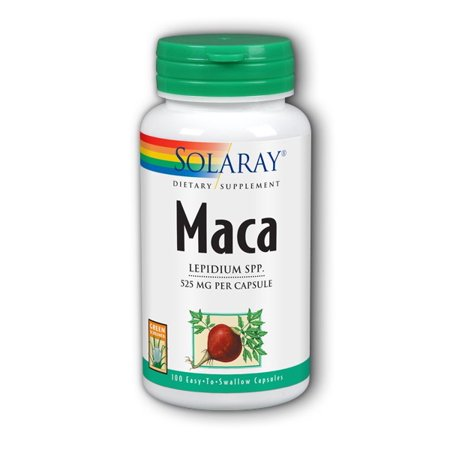 Solaray Maca 525 mg - 100 Capsules