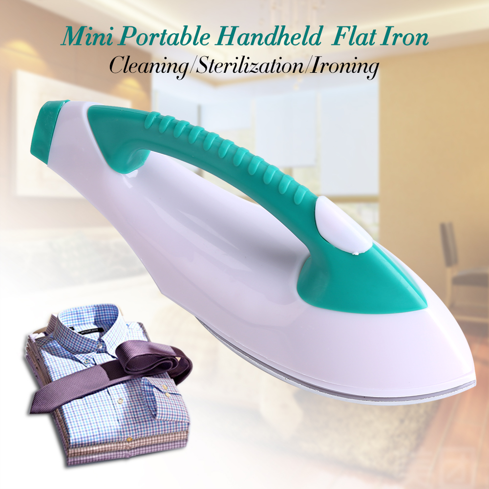 Portable Clothes Steamer,EECOO Mini Portable Clothes Electric Flat Iron Handheld for Travel Home Appliance Hot,Travel Iron