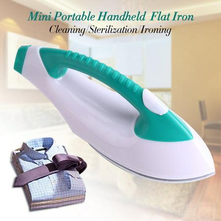 Knifun Mini Portable Clothes Electric Flat Iron Handheld For Travel