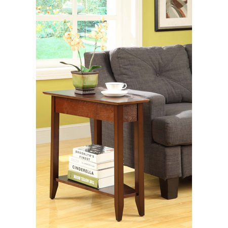 Convenience Concepts American Heritage Wedge End Table