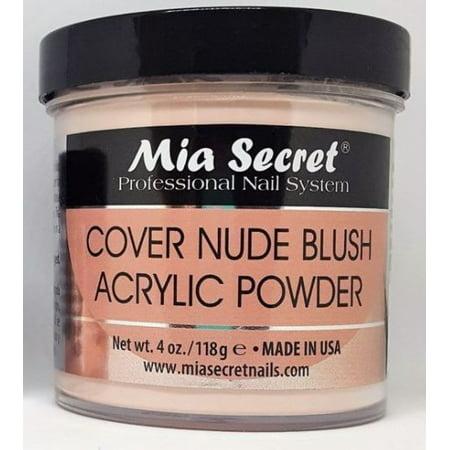MIA SECRET COVER NUDE BLUSH ACRYLIC POWDER 2 OZ