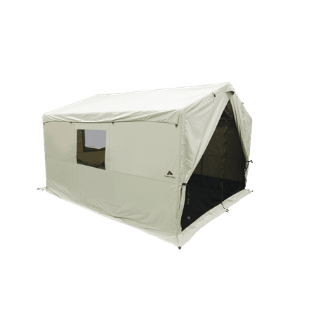 Ozark Trail North Fork 12' x 10' Wall Tent with Stove (Best Winter Tents With Stove)