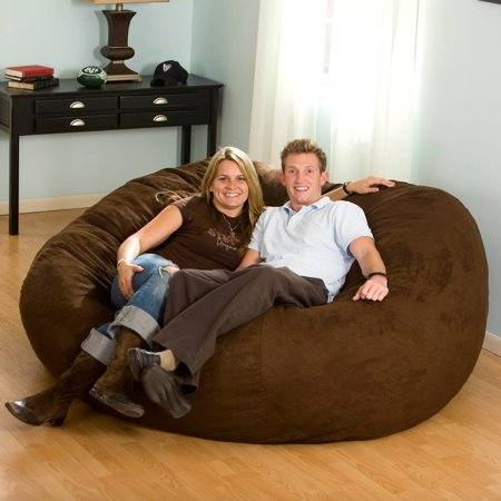 FUF 7 ft. XXL Bean Bag Sofa