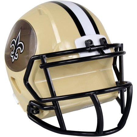 Nfl Mini Helmet - Forever Collectibles NFL Mini Helmet Bank, New Orleans Saints