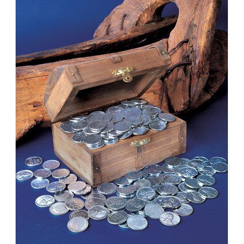 American Coin Treasures 1943 Lincoln Steel Pennies Treasure Chest