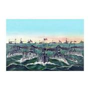 William Cramp & Sons - Ship Builders Print (Unframed Paper Print 20x30)