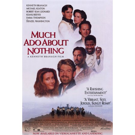 Ado About Nothing Poster (Much Ado About Nothing (1993) 11x17 Movie Poster )